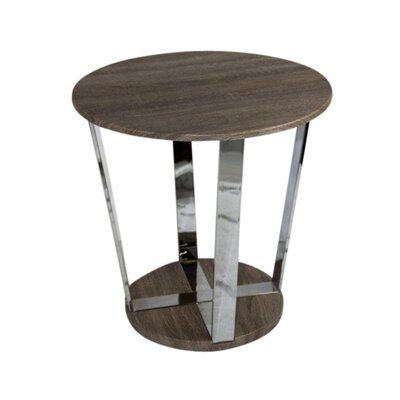 Mclain Round End Table