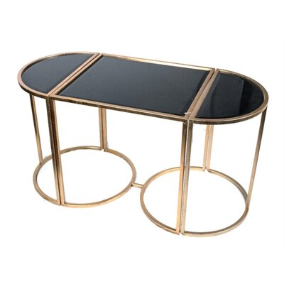 Kalinowski Rationally Stylish Tri-Part Coffee Table