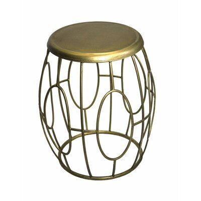 Pietsch Perfect Metal Oval End Table