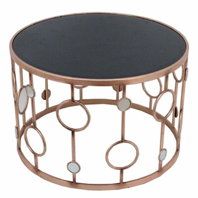 Frenette Metal Round Coffee Table