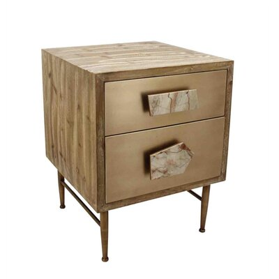 Diorio Robust Wooden End Table