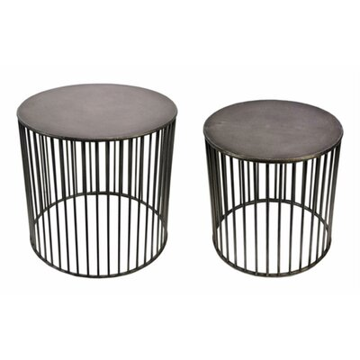 Leddy Vertigo 2 Piece Nesting Tables