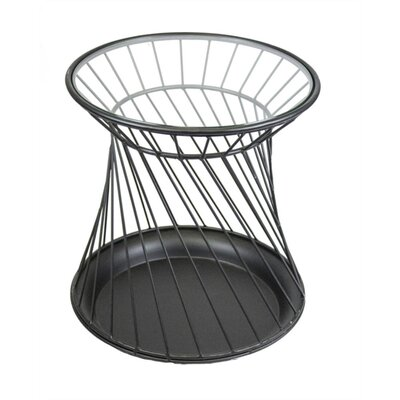 Mckinsey Unique Metal Round End Table