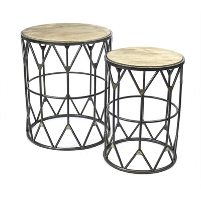 Penman Cultured 2 Piece Nesting Tables