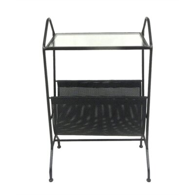 Mcglone Stylish Metal End Table