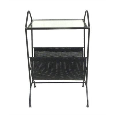 Mcglone Stylish Metal End Table