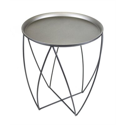 Goodfellow Round Metal End Table