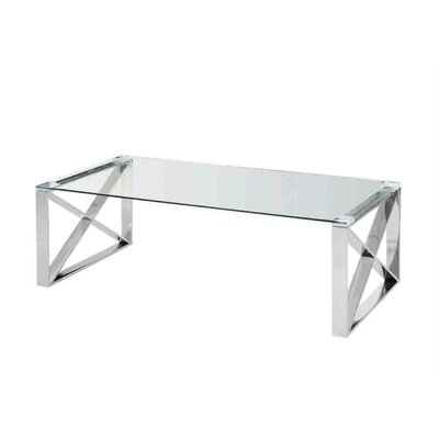 Fachon X-Framed Coffee Table