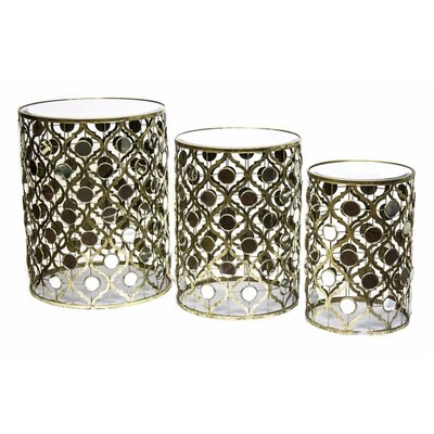 Pellegrin Arabesque 3 Piece Nesting Tables