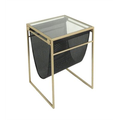 Justice Dazzling Metal End Table