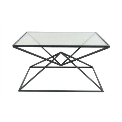 Laforge Trendy Square Metal Coffee Table