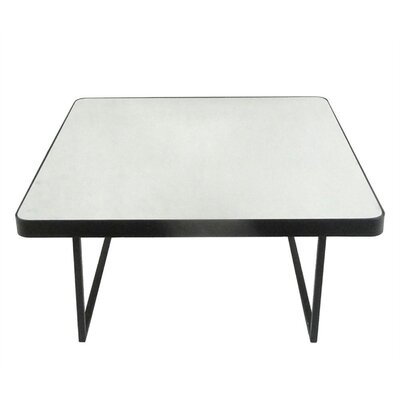 Vahey Square Metal End Table
