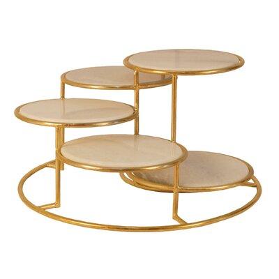 Freeland 5 Tier Metal Coffee Table