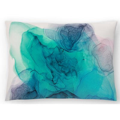Never Alone Lumbar Pillow Size: 14 x 20