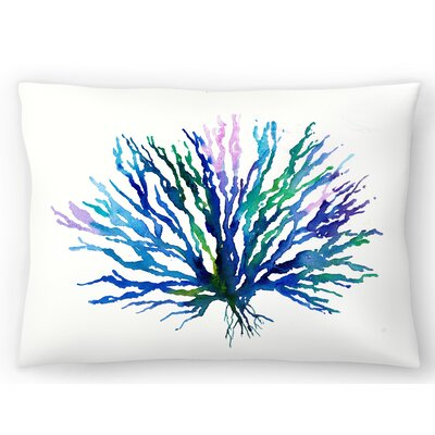Coral 1 Lumbar Pillow Size: 10 x 14