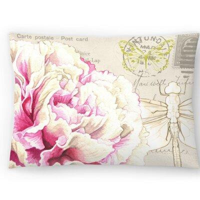 Carnation Lumbar Pillow Size: 14 x 20