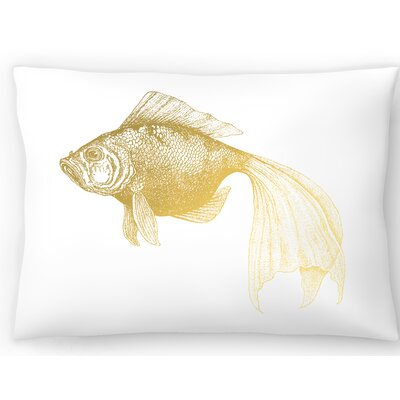 Bubbles Fish Lumbar Pillow Size: 14 x 20