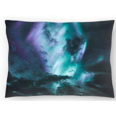 Aurora Borealis Lumbar Pillow Size: 14 x 20