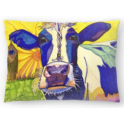 Hippie Cow Asha Lumbar Pillow Size: 14 x 20