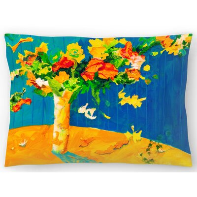 Flowers Set Free Lumbar Pillow Size: 14 x 20