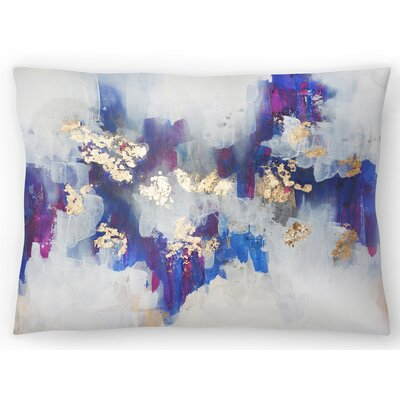 Golden Road Lumbar Pillow Size: 10 x 14