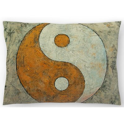 Yin and Yang Lumbar Pillow Size: 14 x 20