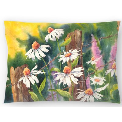 Daisy Dance Lumbar Pillow Size: 10 x 14