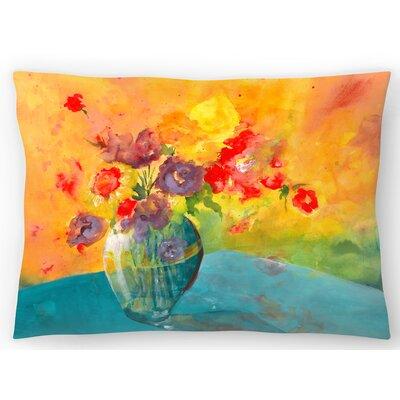 Vase Lumbar Pillow Size: 14 x 20