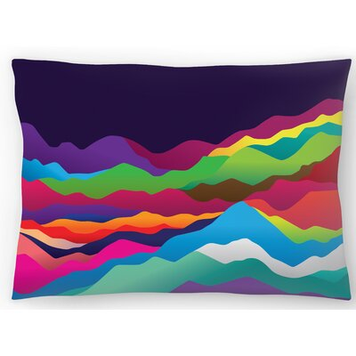 Mountains of Sand Lumbar Pillow Size: 10 x 14