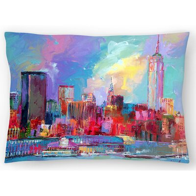 Empire State Building Lumbar Pillow Size: 14 x 20