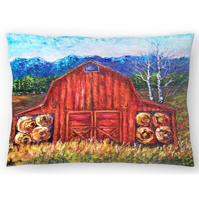Barn Tiff Lumbar Pillow Size: 10 x 14