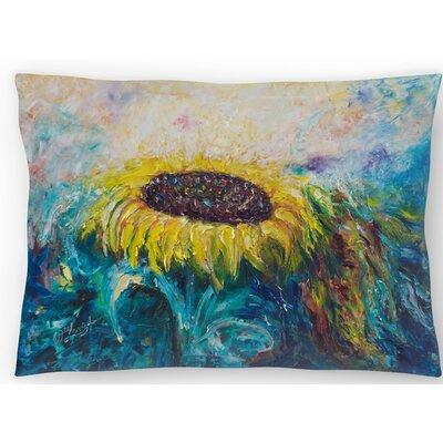Sunny Flower Lumbar Pillow Size: 10 x 14
