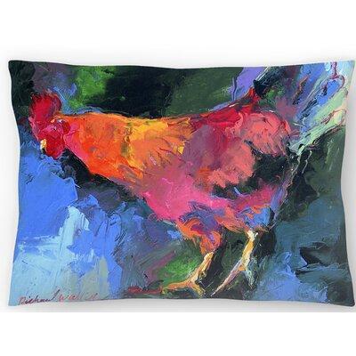 Rooster Lumbar Pillow Size: 10 x 14