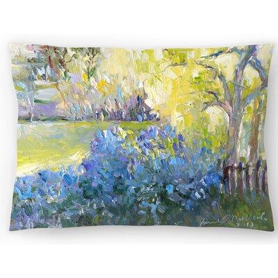 Lilacs Lumbar Pillow Size: 14 x 20