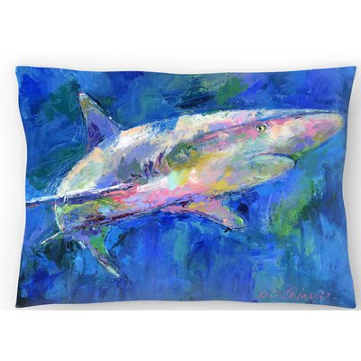 Shark Lumbar Pillow Size: 10 x 14