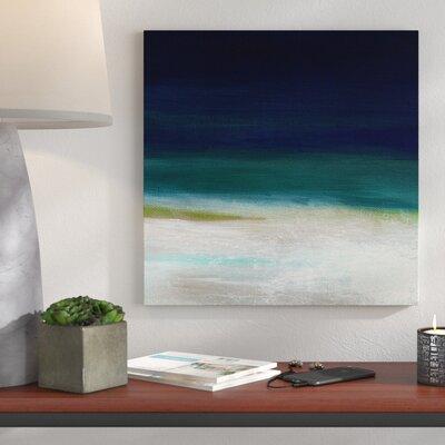 'Beach IV' Acrylic Painting Print on Canvas