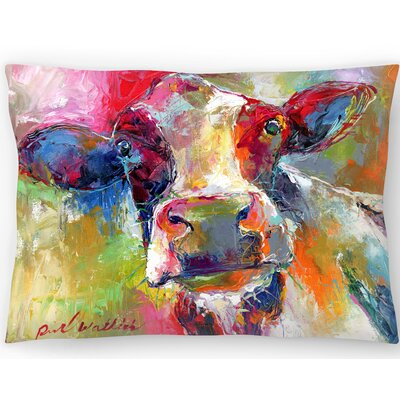 Cow 1 Lumbar Pillow Size: 14 x 20