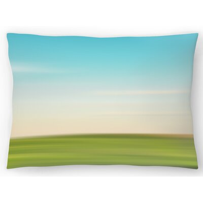 Landscape No 3 Lumbar Pillow Size: 10 x 14