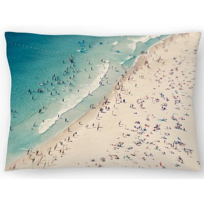 Beach Love Ii Lumbar Pillow Size: 14 x 20