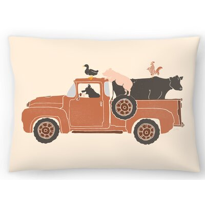 Farm Use Lumbar Pillow Size: 10 x 14