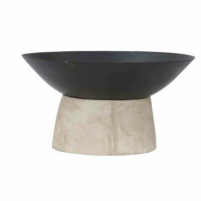 Feuerschale Modern | Garten > Grill und Zubehör > Feürstellen | Blackbeige | Metall - Beton | Siena Garden