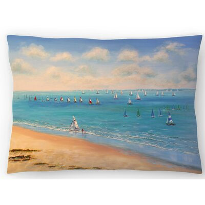 Sailing Season Lumbar Pillow Size: 14 x 20