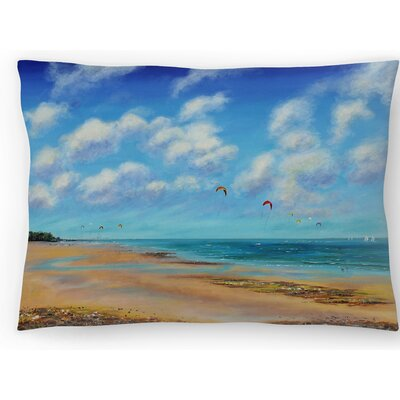 From Sea to Sky Lumbar Pillow Size: 14 x 20