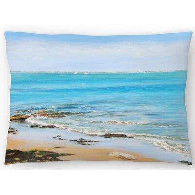 Distant Sails Lumbar Pillow Size: 14 x 20