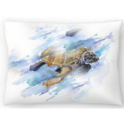 Turtle Lumbar Pillow Size: 10 x 14