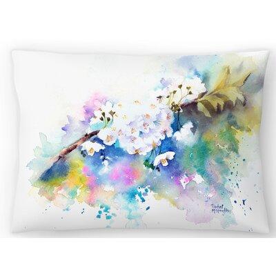 Spring Blossom Lumbar Pillow Size: 14 x 20