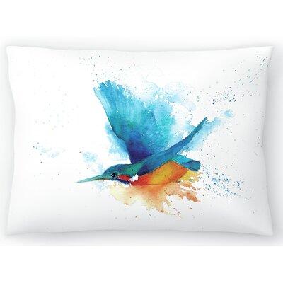 Sapphire Streak Cmyk Lumbar Pillow Size: 10 x 14