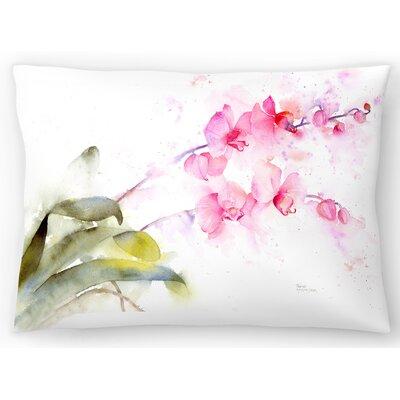 Orchid Lumbar Pillow Size: 14 x 20