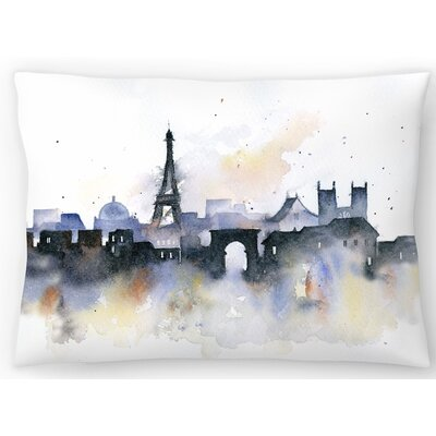 Paris Lumbar Pillow Size: 14 x 20