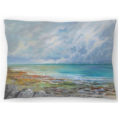 Beach Colors Lumbar Pillow Size: 10 x 14
